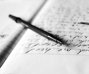 writing lyrics